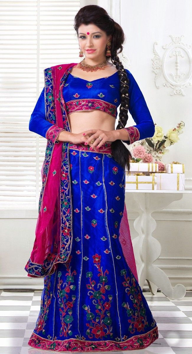 Gorgeous Blue Lehenga Choli