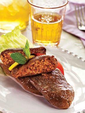 Zeytinyağlı kuru patlıcan dolması Tarifi - Türk Mutfağı Yemekleri - Yemek Tarifleri