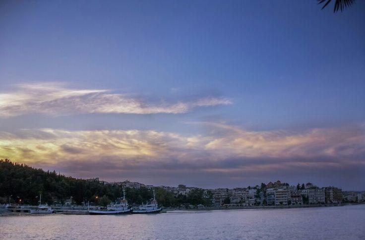 #nature #landspace #sky #clouds #sunrise #sunset #summer #sun #pink #blue #orange #sea #weather