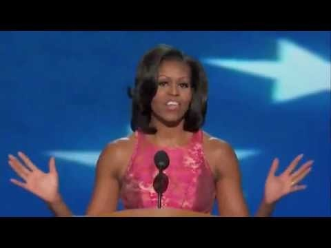 First Lady Michelle Obama's Speech • 2012 Democratic National Convention (complete speech) [VIDEO] #michelleobama #DNC