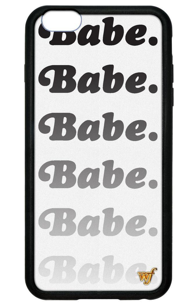 Babe iPhone 6 Plus/6s Plus Case