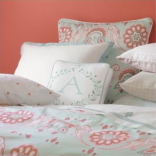 Coral And Turquoise....would Look AMAZING In My Guest Bedroom.