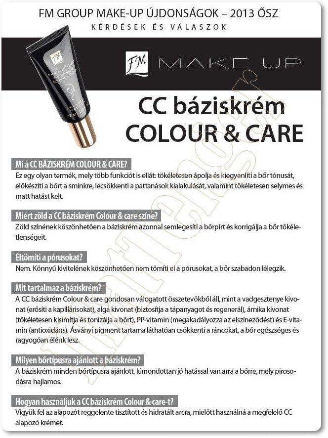 CC Primer Color & Care - wise green/ CC alapozó