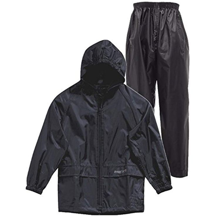 New Kids Boys Girls Regatta Stormbreak Waterproof Rain Jacket Coat Taped Seams
