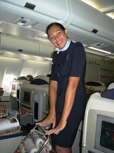 Air France Stewardess