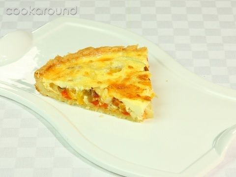 Quiche ai peperoni: Ricette di Cookaround | Cookaround