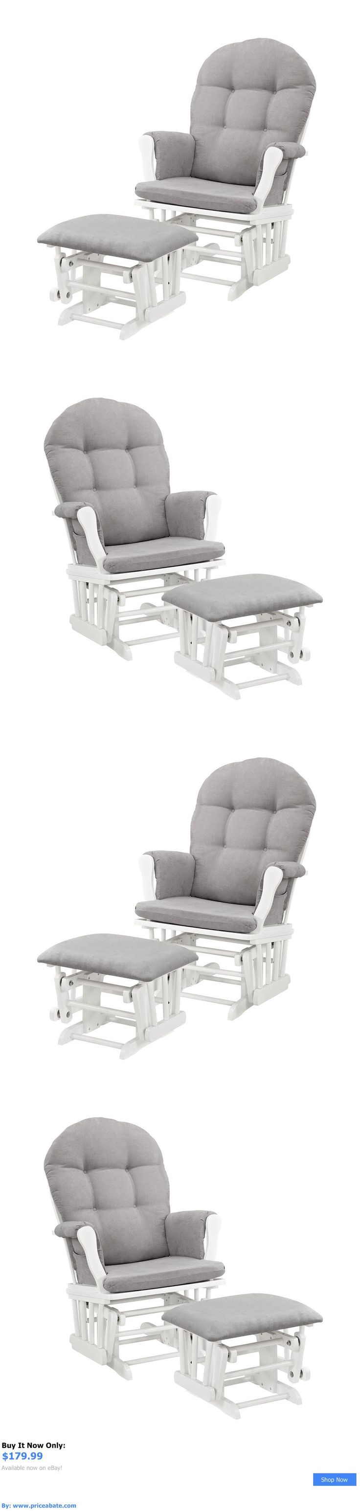 Baby Nursery: Baby Glider Chair Rocking Chair Nursery Furniture Nursing Gliders Ottoman Infant BUY IT NOW ONLY: $179.99 #priceabateBabyNursery OR #priceabate