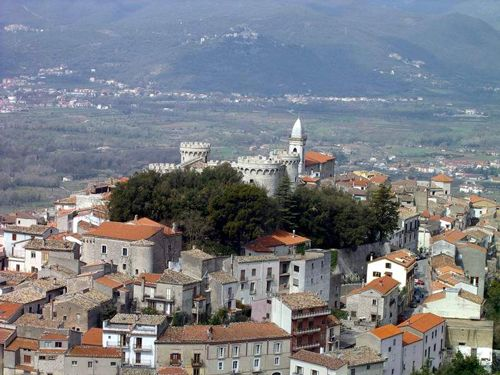 The Town of Isernia in Molise--a young province with a very old heart.