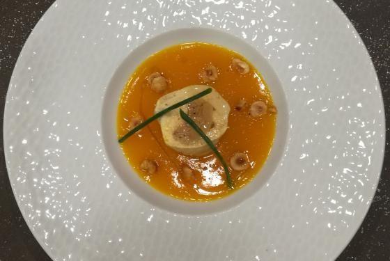 Ballotines de poulet au foie gras