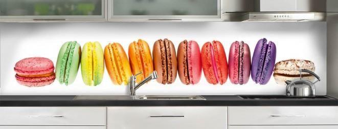 Adhésif coloré pour #crédence gourmande !
