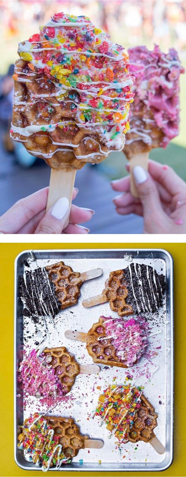 """Waffle Pops"" are the new sweets-on-a-stick that are giving Cake Pops a run for their money."