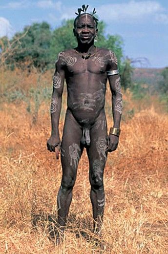Tribes photos nude african Men