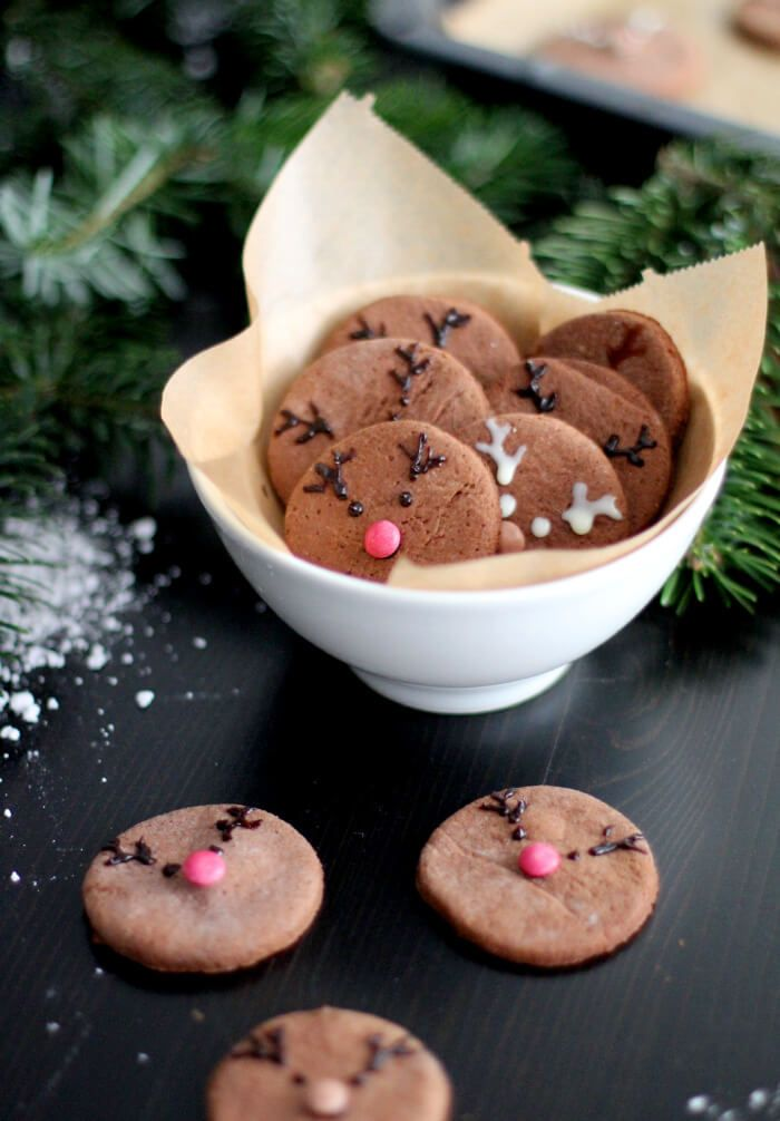 Rudolph The Red Nosed Reindeer Cookies