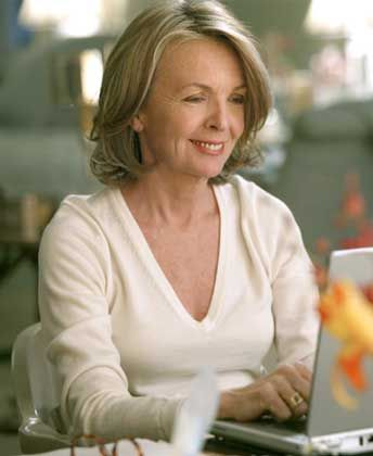 diane keaton. Something's Gotta Give. Love that film!! Keaton was hysterical. And loved the setting of the film...