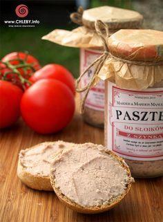 Pieczenie chleba i inne przepisy: Pasztet do słoików z szynką