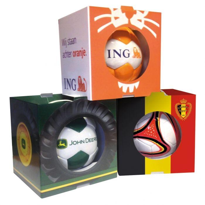 De bal kan raar rollen - Balboxen - Oranje Rode Duivels - John Deere - Relatiegeschenken
