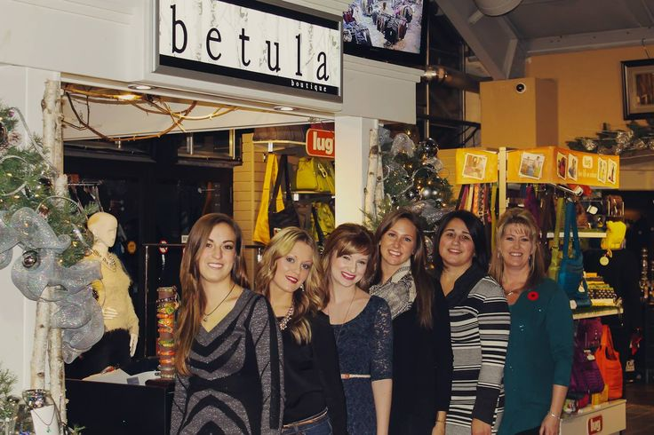 Our amazing staff at Betula Boutique for the 2013 year! Visit us on facebook http://www.facebook.com/BetulaBoutique
