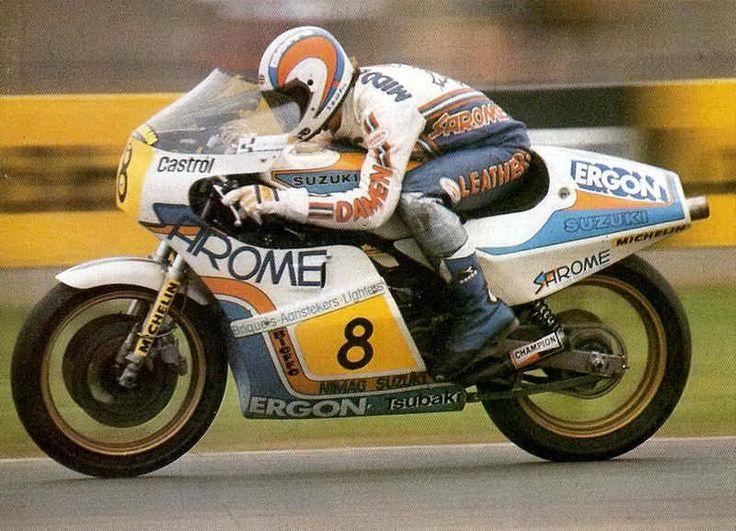 1981 Jack Middelburg motorrace