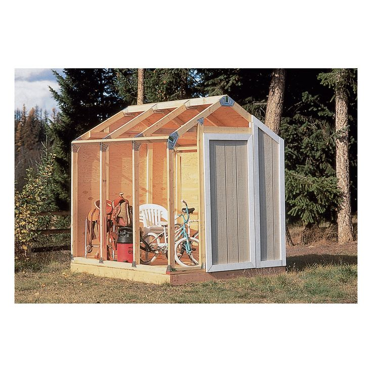 Fast Framer Universal Storage Shed Framing Kit — Universal Roof | Shed Building Kits| Northern Tool + Equipment