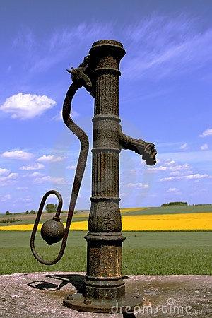Vintage water pump by Krzysztof Slusarczyk, via Dreamstime