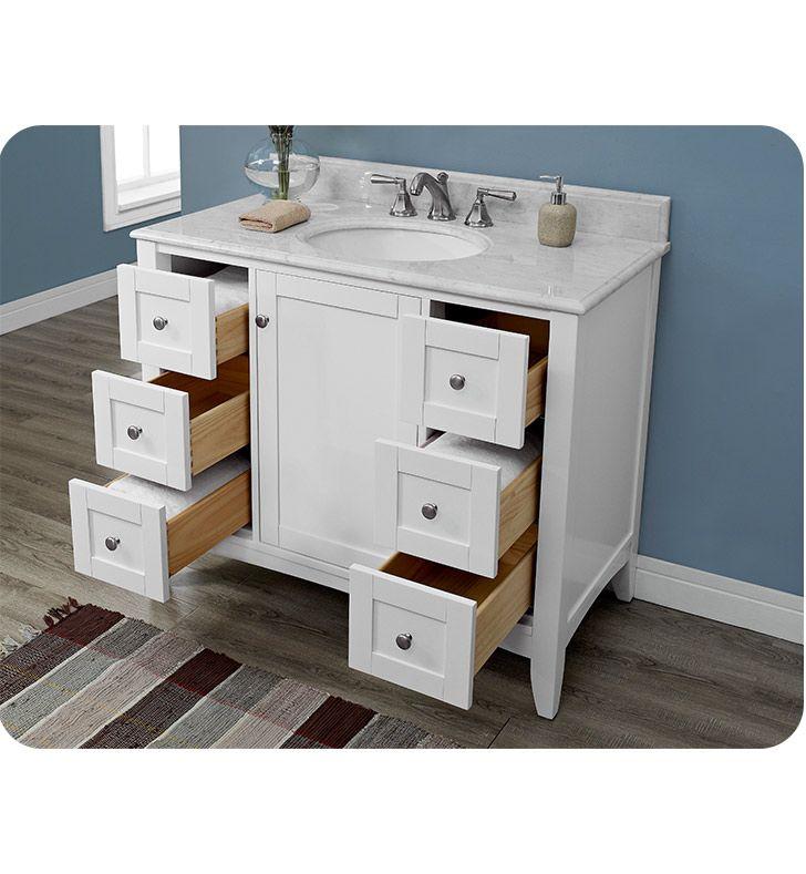 Fairmont designs 1512 v42 shaker americana 42 inch vanity 42 inch bathroom vanity