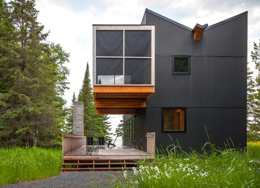 Soon, a couple will embark on a journey with LEAP Architecture and begin the design process for a camp in the Adirondacks. We came across this as a possible inspiration. What a well-designed building by Salmela Architects!   Do you have a project in mind? Want to speak with an architect about how to make it affordable, add value to your bottom line and enhance your quality of life? Contact us at contact@leaparchitecture.com
