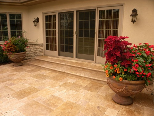 15 best images about Travertine patios on Pinterest ... on Travertine Patio Ideas id=89345