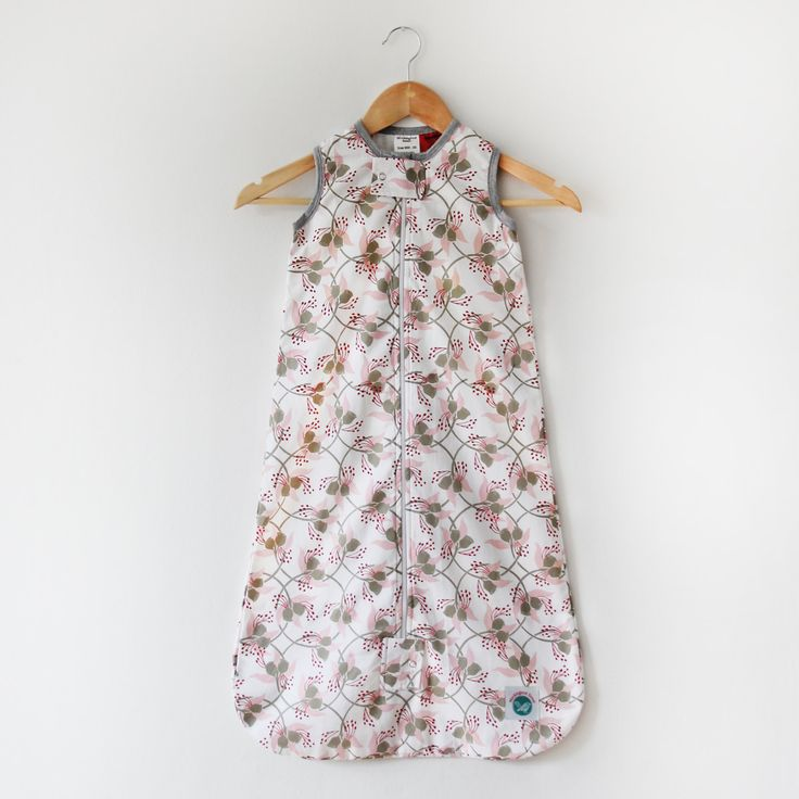 Baby Sleep Bag -100% Organic Cotton (Gumnut) by MockingbirdStreet on Etsy