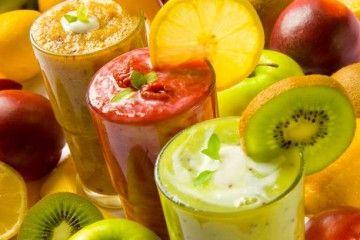 χυμοί φρούτων smoothies
