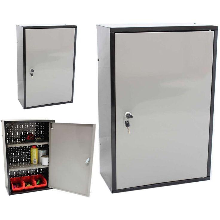 Lockable Storage Cabinet Wall Mount