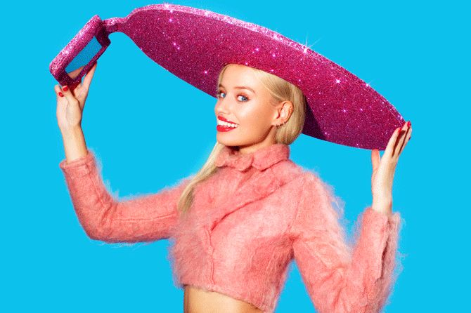 Lady gaga hat, selfie hat, acer hat, acer fashion, Christian cowan sanluis, 自拍神器,自拍,