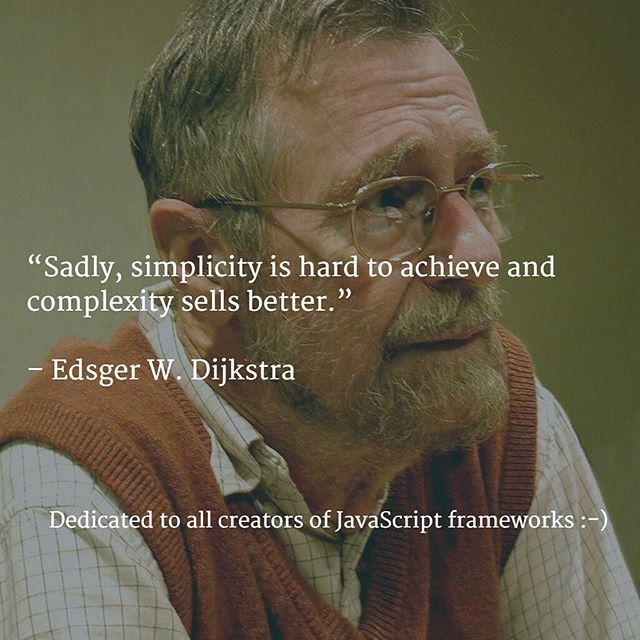 #simplicity vs #complexity . True in Computer Science and in life.  Photo by Hamilton Richards - manuscripts of Edsger W. Dijkstra, University Texas at Austin. Licensed under CC BY-SA 3.0