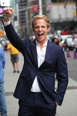 Times Square Gossip: CHRIS GEERE VISITS STEPHEN COLBERT SHOW