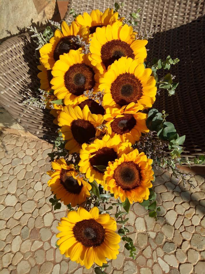 Elegant Sunflower Bouquet Sunflower Bouquets Bouquet Sunflower