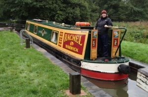 Narrowboat Rachel on the Oxford Canal - Try narrowboat holidays on the UK canals
