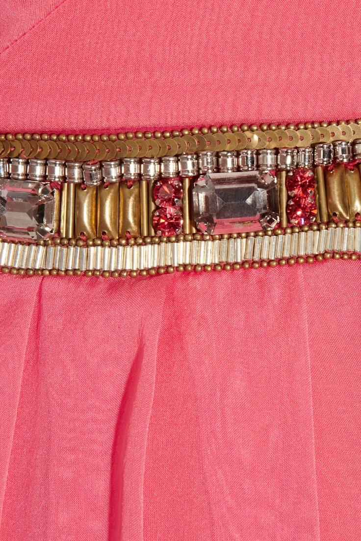 Matthew Williamson   Embellished silk-chiffon gown   NET-A-PORTER.COM