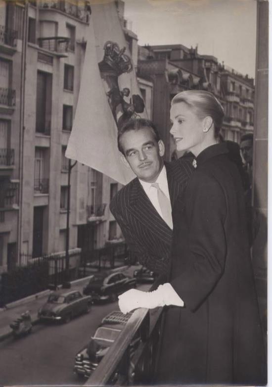Principssa Grace e il Principe Ranieri di Monaco.