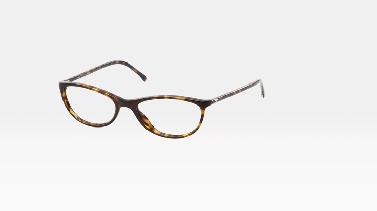 subtle cat-eye-ish chanel specs