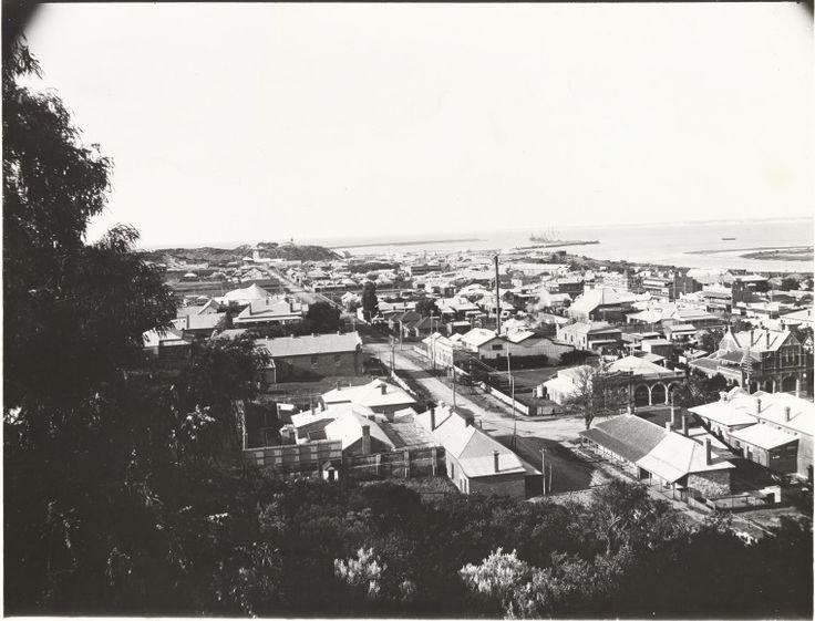 BA1271/331: Bunbury, from Boulter's Heights, 1912 http://encore.slwa.wa.gov.au/iii/encore/record/C__Rb4105405?lang=eng