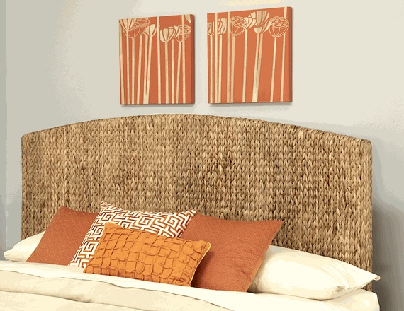 Wicker Headboard King