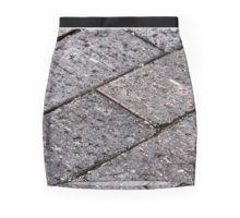 Brick pencil skirt.