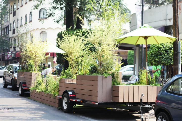 parklets - A new alternative public space in the city / Spaces + DAS Architecture Foundation
