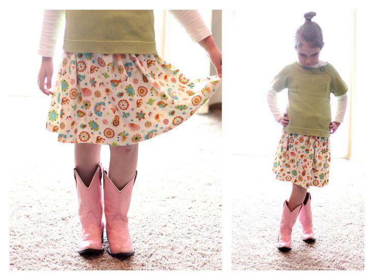 Юбки для детей инструкция