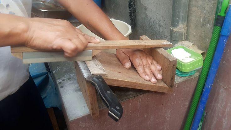 Afilador casero para cuchillos