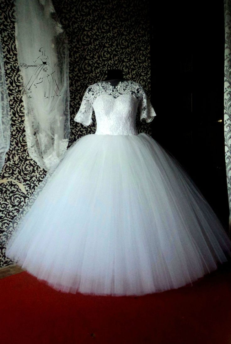 свадебное платье, wedding dress, Елизавета Рогова,пышное свадебное платье, princess dress