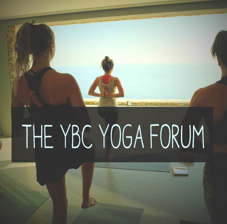 Introducing the YBC Yoga Forum — YOGABYCANDACE