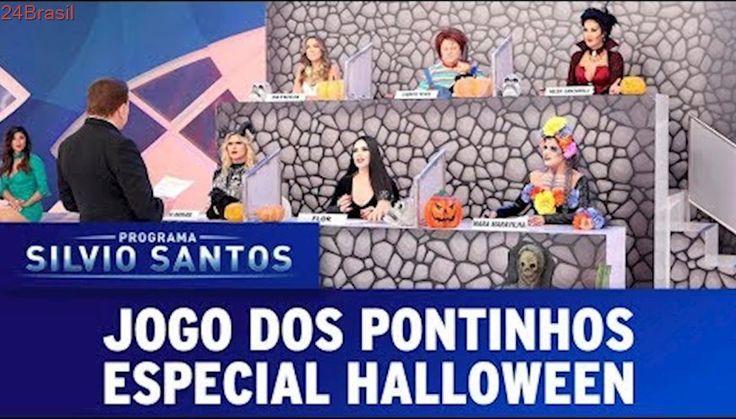 Jogo dos Pontinhos especial Halloween | Programa Silvio Santos (29/10/17)