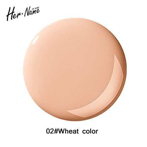 Her name primer makeup base pore fessional concealer color correcting foundation setting spray Moisturizing make up (02 natural color) >>> For more information, visit image link.