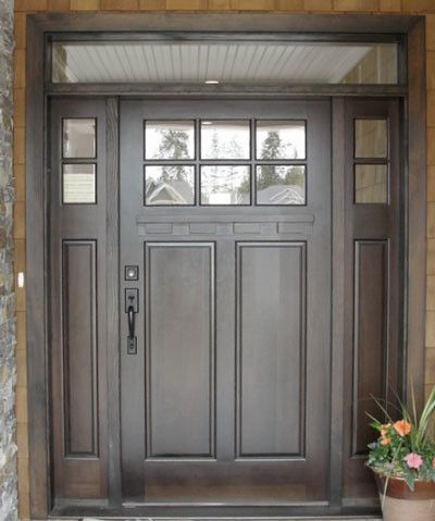 Best 25 entry door with sidelights ideas on pinterest for Double wide french doors