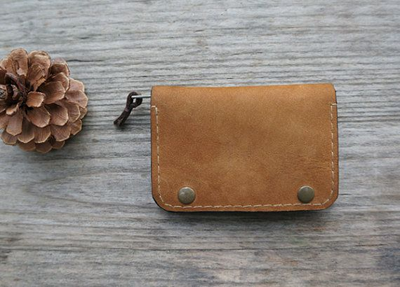 Credit card casethin leather walletMinimalist wallet by Unsimple, $44.00